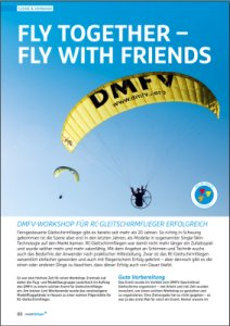 "Bericht im Modellflieger: ""Fly together – Fly with friends 2015"""